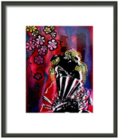 Akane Framed Print By Drexel