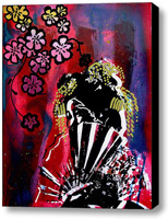 Akane Stretched Canvas Print   Canvas Art By Drexel