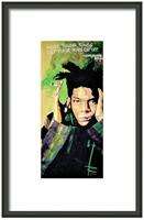 Basquiat Framed Print By Drexel