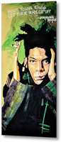 Basquiat Metal Print By Drexel