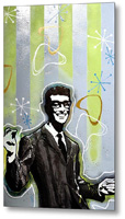 Buddy Holly Metal Print By Drexel
