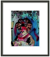 Fumiko Framed Print By Drexel