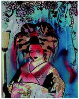 Fumiko Print By Drexel
