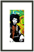 Jimi Framed Print By Drexel