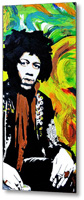 Jimi Metal Print By Drexel