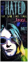 Kurt Cobain Print By Drexel