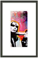 Nico Framed Print By Erica Falke