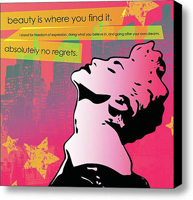 Beauty Stretched Canvas Print   Canvas Art By Drexel