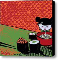 No Hands Stretched Canvas Print   Canvas Art By Drexel